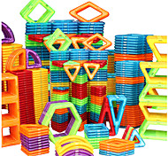 abordables -Blocs Magnétiques Carreaux magnétiques Blocs de Construction Jouet Educatif 20-128 pcs Automatique Robot Grande roue compatible Polycarbonate Legoing Cadeau Magnétique 3D A Faire Soi-Même Garçon Fille