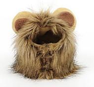 abordables -Perruque de crinière au lion pour le costume de chien et de chien Animal adaptable, lavable, confortable, fantaisie, lion, cheveux