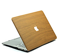 abordables -MacBook Etuis Apparence Bois Polycarbonate pour MacBook 12'' / MacBook 13'' / MacBook Air 11 pouces