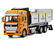 abordables -1:48 Camion Tombereau Camions Véhicules de Construction Petites Voiture Camion Unisexe Garçon Fille Enfant Jouets de voiture