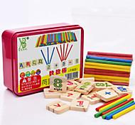 abordables -Carte d'Apprentissage Outils Pédagogiques Montessori Blocs de Construction Jouets Educatifs Mathématiques Jouet Educatif pcs Education