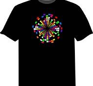 voordelige -led t-shirts 100% katoen 2 aaa batterijen van hoge kwaliteit nachtlicht