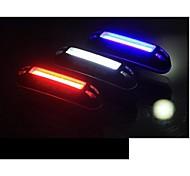 economico -LED Luci bici Luce posteriore per bici luci di sicurezza LED Ciclismo da montagna Bicicletta Ciclismo Impermeabile Modalità multiple Portatile Colore variabile USB Batteria al litio 100 lm USB Bianco