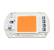 abordables -1pc 50w cob led élèvent la puce de lumière spectre complet pour les plantes de bricolage spotlight