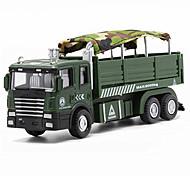 abordables -Réservoir Camion de transport militaire Véhicule de construction de camion jouet Petites Voiture Modèle de Voiture Musique et Lumière Véhicules à Friction Arrière Garçon Fille Enfant Jouets de voiture