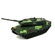 abordables -Alliage de métal Tank Petites Voiture Simulation Tank Avion Unisexe Jouets de voiture