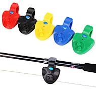 economico -Avvisatore acustico da pesca 1 pcs Per la pesca Facile da usare Plastica dura Pesca di mare Pesca con esca Pesca dilettantistica