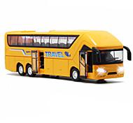 abordables -1h50 Petites Voiture Véhicules à Friction Arrière Bus Bus Classique Simulation Mini véhicules de voiture jouets pour cadeau d'anniversaire ou cadeau d'anniversaire pour enfants / Enfant / Enfants