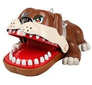 abordables -Gadget de blague pratique Accessoire de Maison de Poupées Dentiste Bulldog Plastique Chiens Crocodile Requin Mordre la main / Enfant