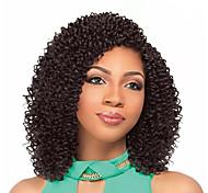 abordables -Crochet Hair Braids Marley Bob Box Braids Cheveux Synthétiques Rajouts de Tresses 1 pc / paquet / Il y a 2 pièces dans un paquet. Normalement 5-7 pack suffisent pour une tête pleine.