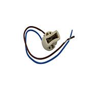 abordables -g9 a mené le fil résistant 20cm de support de douille en céramique de stripline