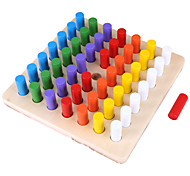 abordables -Outil pédagogique Montessori Blocs de Construction Jouet Educatif compatible En bois Legoing Classique Éducation Garçon Jouet Cadeau / Enfant / Enfants