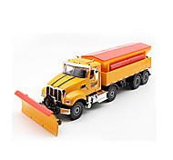 abordables -1h50 Alliage de métal Véhicule de Construction Camion de marchandises Tombereau Chasse-neige Petites Voiture Simulation Camion Garçon Fille Enfant Jouets de voiture Cadeau