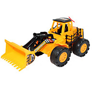 abordables -Le fer Moto Véhicule de Construction Bulldozer Excavateur Petites Voiture Jouets de plage Petite Voiture Pelleteuse Unisexe Garçon Jouets de voiture