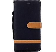 economico -telefono Custodia Per Motorola Integrale Custodia in pelle Porta carte di credito Moto G5 più Moto G5 Moto G4 Plus MOTO G4 A portafoglio Porta-carte di credito Con supporto Tinta unica Resistente