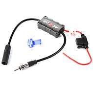 economico -Booster amplificatore per antenna fm per autoradio per veicoli stabili di alta qualità 12v per stazioni radio am e fm