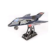 abordables -Puzzles 3D Puzzle Puzzles en bois Avion Chasseur A Faire Soi-Même Papier de haute qualité Classique Enfant Unisexe Garçon Fille Jouet Cadeau