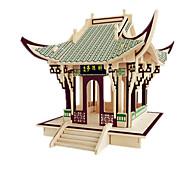 abordables -Puzzles 3D Kit de Maquette Maquettes de Bois Bâtiment Célèbre Meuble Maison A Faire Soi-Même En bois Classique Enfant Unisexe Garçon Fille Jouet Cadeau