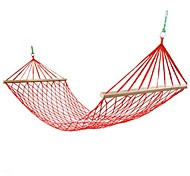 abordables -Camping hamac avec épandeur de bois dur Extérieur Ultra léger (UL) Stable Nylon pour 1 personne Camping Camping / Randonnée / Spéléologie Extérieur Jaune Rouge Vert