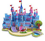 abordables -Puzzles 3D Puzzle Kit de Maquette Château Bâtiment Célèbre A Faire Soi-Même Papier cartonné Classique Anime Dessin Animé Enfant Unisexe Jouet Cadeau