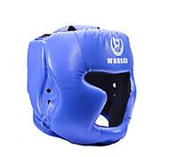 abordables -Casque de Boxe Casque Des sports faux cuir Taekwondo Boxe Exercice & Fitness Anti-Choc Respirable Réglable Protectif Pour Homme