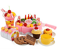 abordables -Nourriture Factice / Faux Aliments Gâteau Couteaux à Gâteau & Biscuit Plastique Enfant Jouet Cadeau 1 pcs