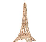 abordables -Puzzles 3D Puzzle Maquettes de Bois Bâtiment Célèbre Maison En bois Bois Naturel Unisexe Jouet Cadeau