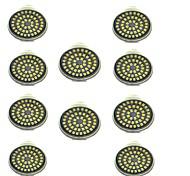 abordables -10pcs 3 W Spot LED 500 lm GU10 48 Perles LED SMD 2835 Décorative Blanc Chaud Blanc Froid 12 V / 10 pièces