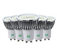 abordables -ywxlight® 5pcs gu10 7w 2835smd ampoule led spot ac ac 85-265v blanc chaud blanc froid naturel blanc led ampoule spotlight pour éclairage domestique