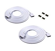 abordables -2 pièces Accessoire d'éclairage Câble électrique Intérieur