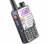 economico -BAOFENG BUV-5RE Ricetrasmittente Palmare Segnale Di Batteria Scarica Programmabile con software di PC Richiesta vocale Radio bidirezionale 3 Km - 5 Km 3 Km - 5 Km 1800 mAh 5 W