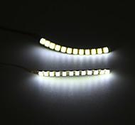 abordables -Veilleuse Ampoules LED Décorative Ampoules LED Moderne contemporain Batterie 1 paire