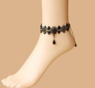 abordables -Danse du ventre Bijoux Femme Utilisation Polyester Cristaux / Stras Bracelets