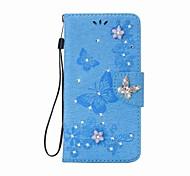 economico -telefono Custodia Per Apple Integrale Custodia in pelle Porta carte di credito iPhone 12 Pro Max 11 SE 2020 X XR XS Max 8 7 6 A portafoglio Porta-carte di credito Con diamantini Farfalla Resistente