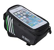 economico -B-SOUL Waterproof Bag Cell Phone Marsupio triangolare da telaio bici 5.7 pollice Schermo touch Ciclismo per iPhone 5c iPhone 4/4S Samsung Galaxy S4 Arancione Rosso Blu Ciclismo / Bicicletta