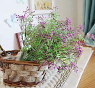 abordables -1 branche plante de simulation pastorable fleurs artificielles décoration de la maison