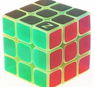 abordables -Ensemble de cubes de vitesse Cube magique Cube IQ z-cube 3*3*3 Cubes Magiques Anti-Stress Cube casse-tête Phosphorescent Mode d'Emploi Inclus Enfant Adulte Jouet Cadeau