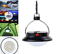 abordables -Lanternes & Lampes de tente 350 lm LED 60 Émetteurs 3 Mode d'Eclairage Portable Urgence Camping / Randonnée Chasse Pêche / Alliage d'Aluminium