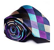 economico -Per uomo Da serata / Da ufficio / Essenziale Cravatta A strisce