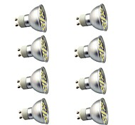 economico -8pcs 3 W Faretti LED 350 lm GU10 29 Perline LED SMD 5050 Decorativo Bianco caldo Luce fredda 220 V