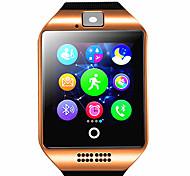 economico -q18 smartwatch braccialetto bluetooth impermeabile telefono foto passo di movimento conteggio multi-funzione.