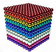 abordables -216/512/1000 pcs 5mm Jouets Aimantés Boules Magnétiques Blocs de Construction Aimants de terres rares super puissants Aimant Néodyme Aimant Néodyme Soulagement de stress et l'anxiété Jouets de bureau