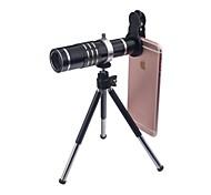 economico -Obiettivo del telefono cellulare Grandangolo / Obiettivo macro / Teleobiettivo Vetro Macro 18X iPhone / Samsung / Huawei