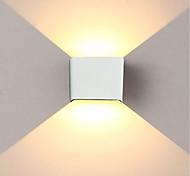 abordables -Jiawen 6w 480lm led mur lumière simple / moderne / up down led lampe de chevet escalier chambre lecture lampe de mur porche escalier décoration lumière ac85-265v