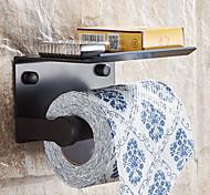 economico -Porta carta igienica multifunzione moderno in alluminio con ripiano porta cellulare per bagno 1pz