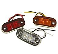 abordables -SENCART Automatique LED Lumières de décoration Ampoules électriques 120 lm LED SMD 2 W 2 Pour Universel Toutes les Années 1 PC