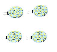 economico -4pcs 1 W Luci LED Bi-pin 200 lm G4 T 15 Perline LED SMD 5730 Decorativo Bianco caldo Luce fredda 12-24 V / 4 pezzi