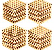 abordables -4 pcs 3mm Jouets Aimantés Boules Magnétiques Blocs de Construction Aimants Magnétiques Super Forts Aimant Néodyme Puzzle Cube Soulagement de stress et l'anxiété Jouets de bureau Soulage ADD, TDAH