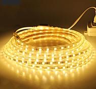 abordables -18m Lumières de bande LED Ruban LED 1080SMD LED 5050 SMD 10mm Blanc Chaud Blanc Rouge Imperméable Découpable Tiktok 220 V