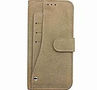 economico -telefono Custodia Per Samsung Galaxy Integrale Nota 8 A portafoglio Porta-carte di credito Con supporto Tinta unita Resistente pelle sintetica